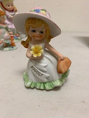 $ CDN22.45 • Buy Porcelain Figurine August Vintage