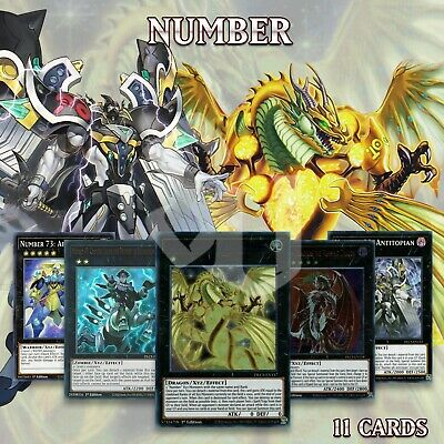 AU7.03 • Buy NUMBER DECK 11 | Finisher Arm Vampiric Dragon Numeron Collection DLCS YuGiOh