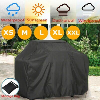 £11.95 • Buy Extra Large Bbq Cover Outdoor Waterproof Garden Barbecue Grill Gas Protector Uk