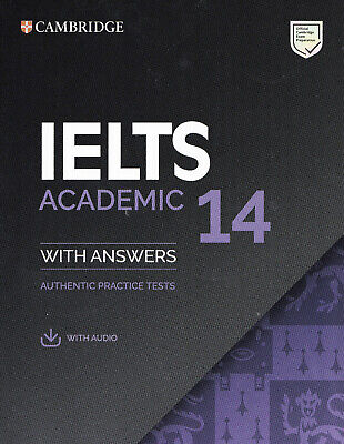 Cambridge English IELTS 14 ACADEMIC Practice Tests With Answers & AUDIO 2019 NEW • 28.44£