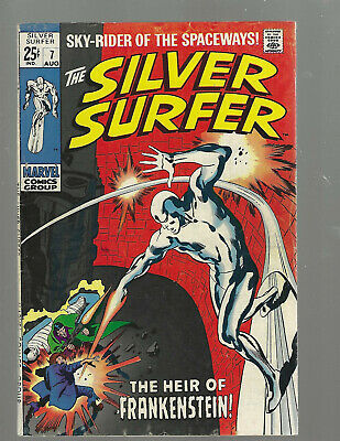 Silver Surfer #7 Early Cameo Frankensteins Monster • 23$