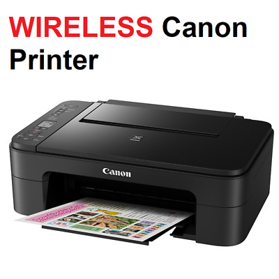 AU99.95 • Buy Canon WIRELESS Printer Student Home Office Print Scan Copy Printing W/ INK