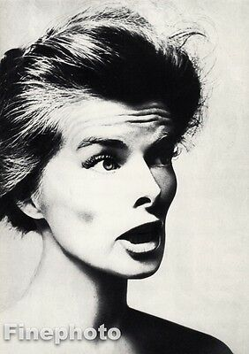 $134 • Buy 1955 Vintage Katharine Hepburn By Richard Avedon Film Movie Actress Photo Art