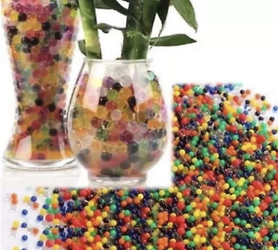 AU8.93 • Buy 10000 Orbeez Water Aqua Soil Crystal Bio Gel Balls Beads Decoration Vase Filler