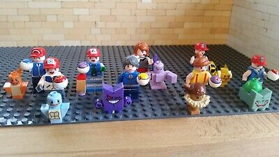 Pokemon Trainer And Pokeball Sets Lego Compatible Minifigures • 3.50£