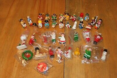 $ CDN24.99 • Buy Vintage Christmas Wooden Decoration Lot (38) Made In Taiwan