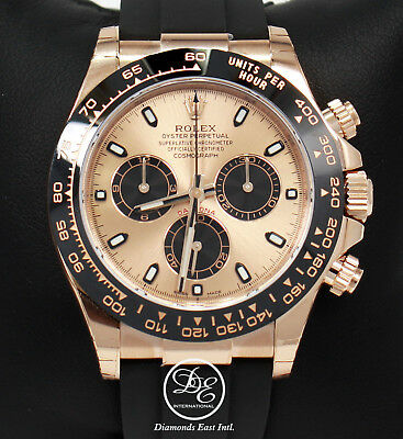 $ CDN44802.73 • Buy Rolex Daytona 116515LN 18K Rose Gold Cosmograph Oysterflex BOX/CARD *BRAND NEW*