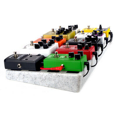 $ CDN52.01 • Buy Single Electric Guitar Pedal Board 50 X 25cm Pedalboard Without Carrying Bag