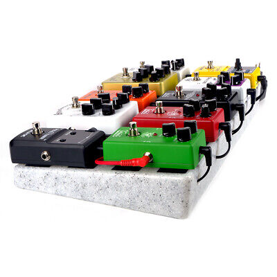 $ CDN54.13 • Buy Single Electric Guitar Pedal Board 50 X 25cm Pedalboard Without Carrying Bag