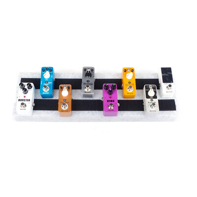 $ CDN41.97 • Buy Single Electric Guitar Pedal Board 50 X 15cm Pedalboard Without Carrying Bag