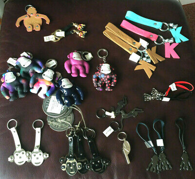New*kipling Keyring*city Leather+many Colors*robot Bag Charm* Authentic=greece • 24.46£