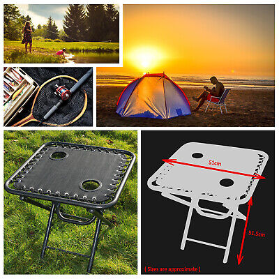 £16.99 • Buy Textoline Outdoor Portable Folding Table Garden Camping Cup Holder Built In