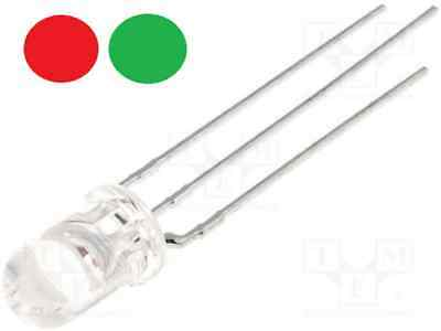 $ CDN4.90 • Buy LED 5mm Two Tone Red Green Cathode Clear DIY Modelling
