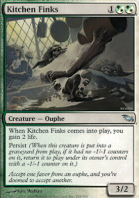 $2.91 • Buy 1x Kitchen Finks Moderate Play, English Shadowmoor MTG Magic