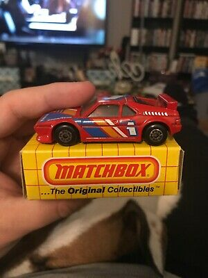 $6.99 • Buy Matchbox MB52 BMW-M1 Red With Yellow Box 1983