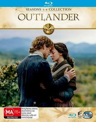 AU109.95 • Buy Outlander Complete Season Series 1, 2, 3 & 4 Blu Ray Box Set New Sealed RB