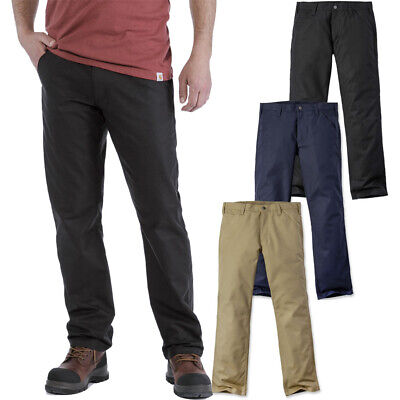Carhartt Mens Rugged Stretch Relaxed Fit Chino Trousers • 52.15£