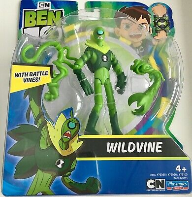 Ben 10 Wildvine Action Figure With Battle Vines Playmates Toys Brand New • 25.79£