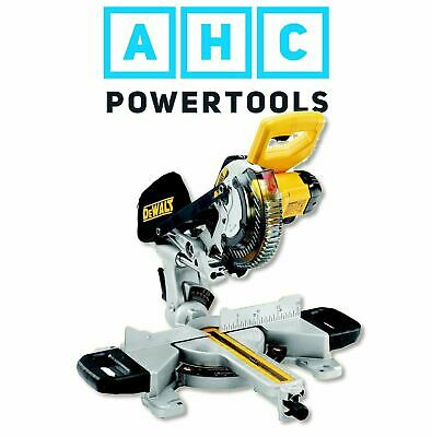 £341.95 • Buy Dewalt DCS365N Mitre Saw 18V Cordless With XPS 184mm (Body Only)