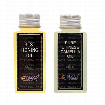 Pure Camellia Honing Oil Grinding Stropping Sharpening Knife Razor Cutting Tools • 4.25£