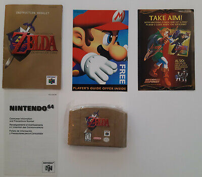 $199.99 • Buy Legend Of Zelda Ocarina Of Time Collector's Ed NR MINT N64 TESTED AUTHENTIC CIB