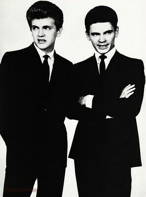 $169.12 • Buy 1964 Everly Brothers Singers By Richard Avedon Phil & Don Music Photo Art 16x20