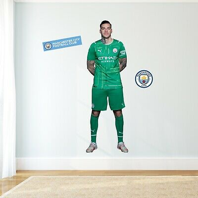 £29.99 • Buy Official Manchester City Wall Sticker - Ederson 21/22 Player Wall Decal Art
