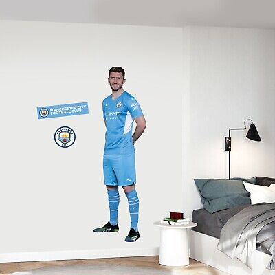 £29.99 • Buy Manchester City Aymeric Laporte 20/21 Player Wall Sticker + Man City Decal Set
