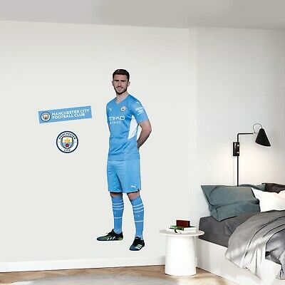£29.99 • Buy Official Manchester City Wall Sticker - Aymeric Laporte 21/22 Player Decal Art