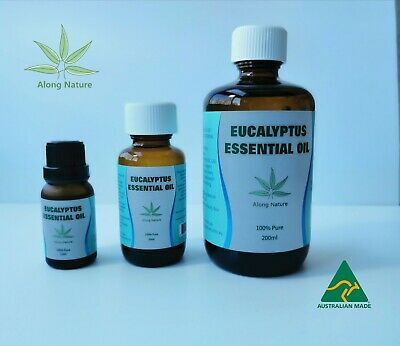AU29.99 • Buy 15ml, 50ml, 200ml 100% Pure Eucalyptus Essential Oil  Australian / Free Shipping