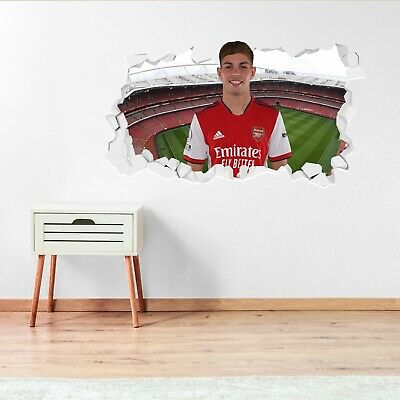 £19.99 • Buy Arsenal FC Official 20/21 Alexandre Lacazette Smashed Wall Sticker