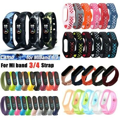 $2.49 • Buy For Xiaomi Mi Band 4 3 Silicone Bracelet Wrist Strap Replacement 60 Styles LOTS