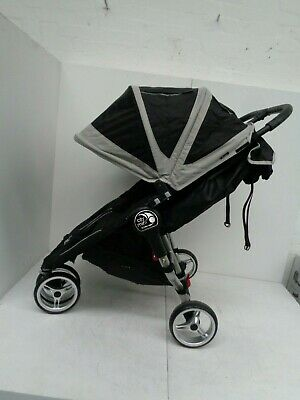 Baby Jogger City Mini Double Black Pushchair Double Seat Stroller RPP £449.99 • 260£
