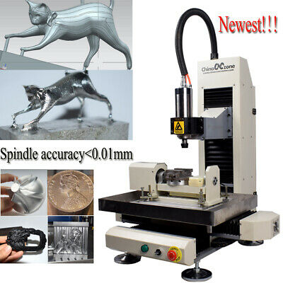 $ CDN7166.33 • Buy Steel 5axis 3040 2.2KW Router Engraving Milling/Cutting Machine For Steel Metal