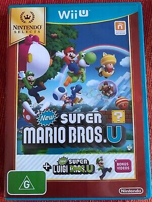 AU50 • Buy Nintendo Selects New Super Mario Bros. U + New Super Luigi U Wii U WiiU Game