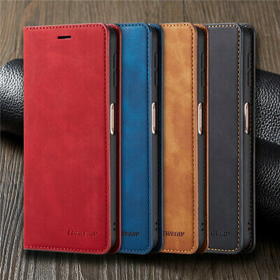 $ CDN7.53 • Buy For Samsung Galaxy S21Plus Note 20 Ultra Magnetic Flip Leather Wallet Case Cover