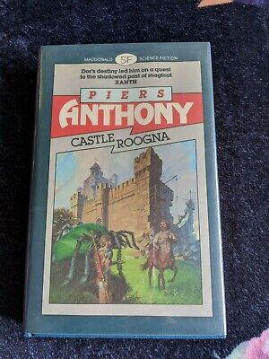Castle Roogna(Xanth #3) By Piers Anthony UK First Edition Signed • 100$
