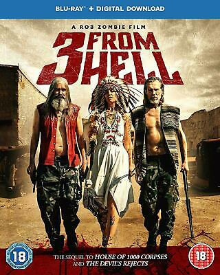 AU42.90 • Buy 3 From Hell Three From Hell Blu Ray RB Sheri Moon Zombie Sid Haig