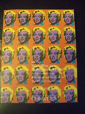 $25 • Buy Christie's NY Catalog- May 2006 Post-War & Contemporary Art Andy Warhol Marilyn