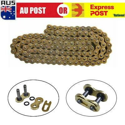AU42.59 • Buy New 520x120 ATV Motorcycle O-Ring Drive Chain 520 Pitch 120 Links Gold AU D