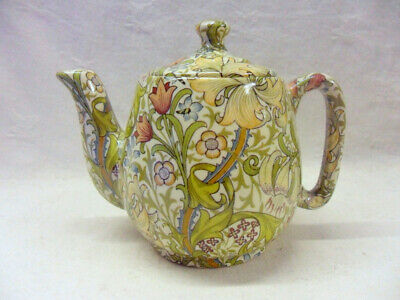 £16.99 • Buy William Morris Golden Lily Design 1 Cup Teapot By Heron Cross Pottery