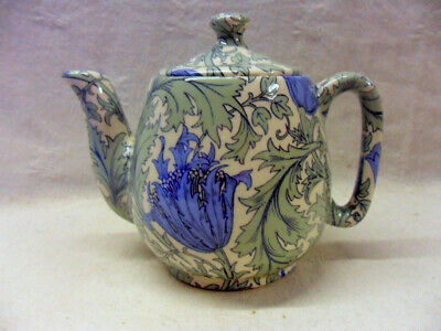 £16.99 • Buy William Morris Anemone Design 1 Cup Teapot By Heron Cross Pottery
