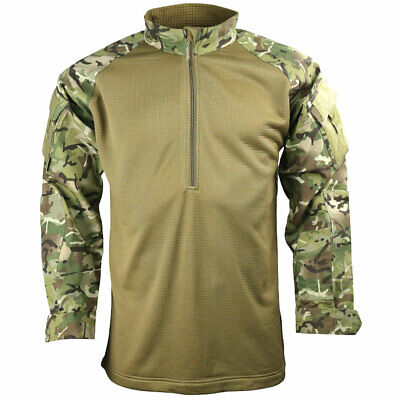 Kombat Grid Fleece Tactical Military Army Airsoft UBACS Combat Shirt BTP MTP • 23.95£