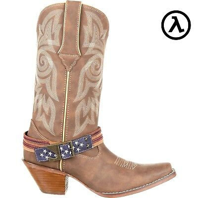 $123.95 • Buy Crush By Durango Women's Flag Accessory Western Boots Drd0208 * All Sizes - New