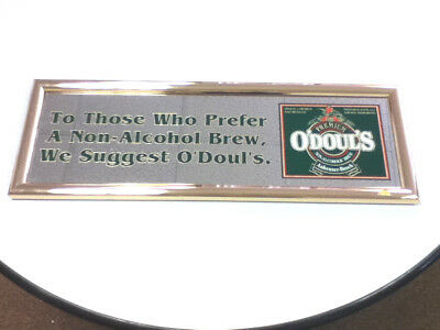 $ CDN69.98 • Buy O'Doul's Beer Sign Mirror N/A Anheuser Busch Brewery St Louis Glass Vintage UD7