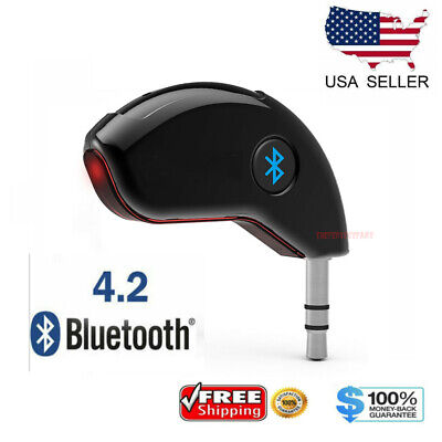 $7.89 • Buy 3.5mm AUX Car Bluetooth 4.2 Receiver Speaker Music Streaming Audio Adapter Mic