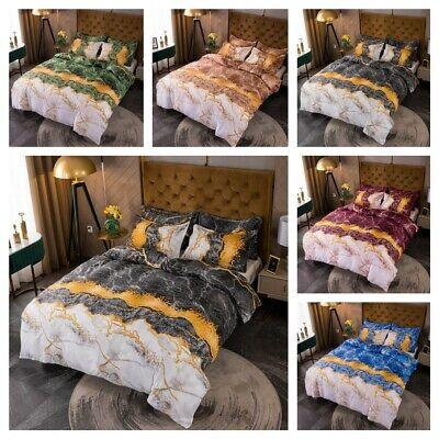AU25.90 • Buy Unicorn Doona Duvet Quilt Cover Set Single Double Queen King Size