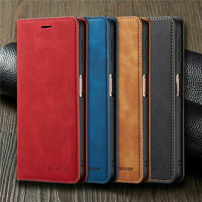 $5.37 • Buy For Xiaomi Redmi Note 7 8 9S Pro Magnetic Wallet Flip Leather Stand Case Cover