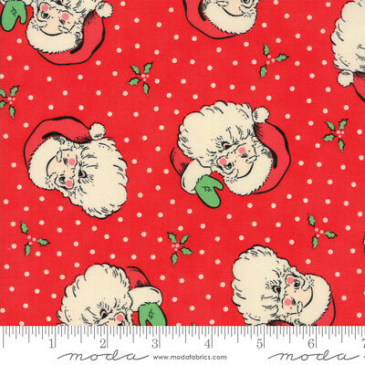 Swell Christmas Santa Laminated Cotton By The Yard 44 Inches Wide Urban Chix • 15.91£