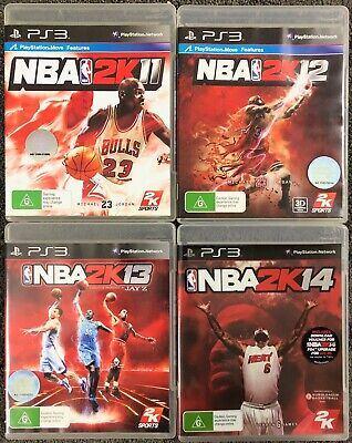 AU22.99 • Buy NBA Bundle 2K11 2K12 2K13 2K14 For PlayStation 3 All In Box With Manual PS3